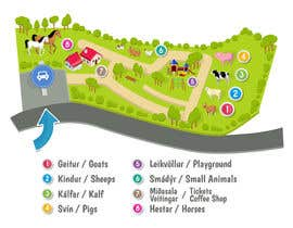 Nambari 7 ya Make a friendly map of a petting zoo na Attebasile