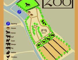 Nambari 4 ya Make a friendly map of a petting zoo na CeciliaChiav