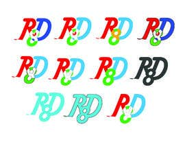 Nambari 125 ya RD8 Logo design na webshohagh