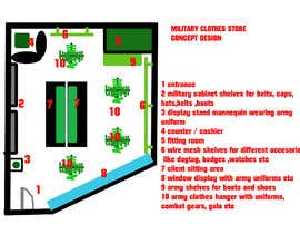 #2 for To design interior furniture layout for a military clothes and accessories store by sonnybautista143