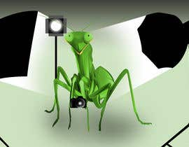 #8 for I  need an artist to take this poor excuse of a image and create a version that looks like a praying mantis with camera and lights for a logo. I need a dng file and vector version by GunaAgung06