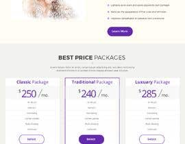 #25 for Design a Website Mockup / wordpress templete for Ladies Salon by Baljeetsingh8551