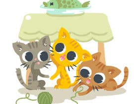 #11 for Cat Illustrations for a Children's book by Fyon