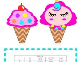 #7 for Ice Cream Cone Blanket Design by suhailrausseo