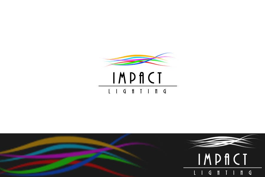 #53 for Logo Design for Impact Lighting by succinct