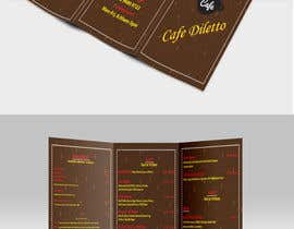 #16 for Tri-fold Brochure for cafe Open 6 days left by Shanowar96