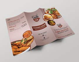 #13 for Tri-fold Brochure for cafe Open 6 days left by mdtafsirkhan75