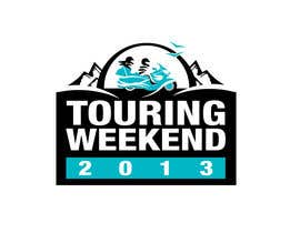 #118 para Logo Design for Touring Weekend 20xx por jtmarechal
