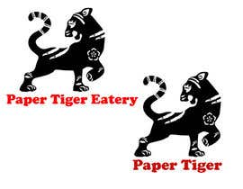 """#21 for Restaurant name """"Paper Tiger"""" Eatery by LevKseniia"""