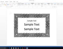 #1 for Create Custom Editable Textbox for Microsoft Word by joney2428