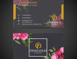 #89 for Create a logo and business card for a Wedding and  Event planning business by samisony
