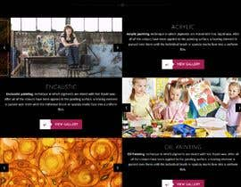#5 for Fine art website by sparkplug047