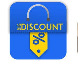 """#10 for Need a logo for Shopping app on play store """"Big Discounts"""" by jahid42"""