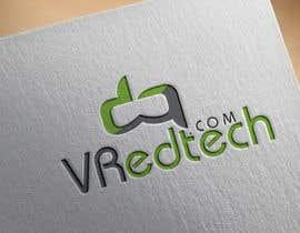 #133 para Logo for VRedtech.com por tonusri007