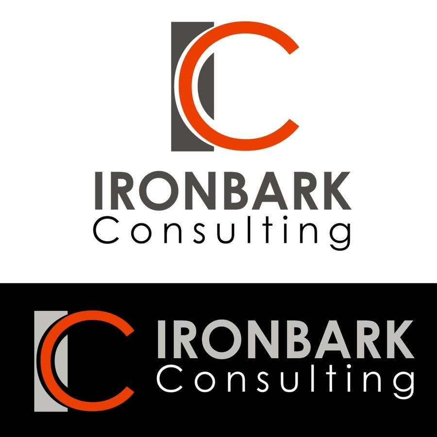 #4 for Logo Design for Ironbark Consulting by Frontiere