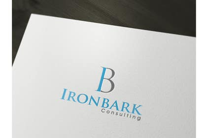#58 cho Logo Design for Ironbark Consulting bởi iffikhan