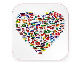 #11 for 2 AppStore icons with hearts and flags by timimalik