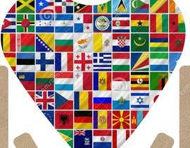 #4 for 2 AppStore icons with hearts and flags by graphicsitcenter