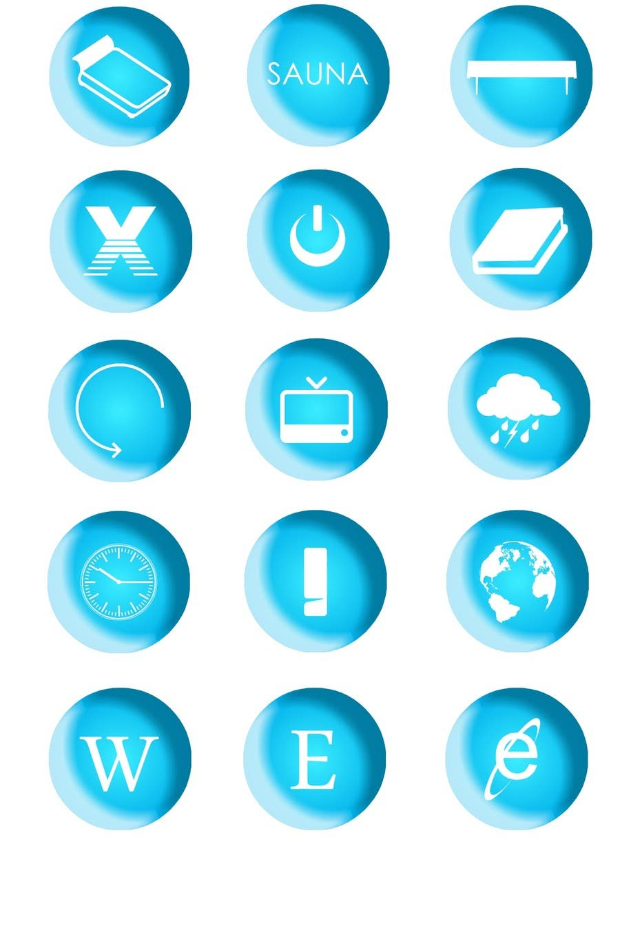 #26 for Icon or Button Design for Sazu Technologies by ppludor