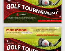 #29 for Design Sponsor Ad for Golf Tournament Brochure av grshojol