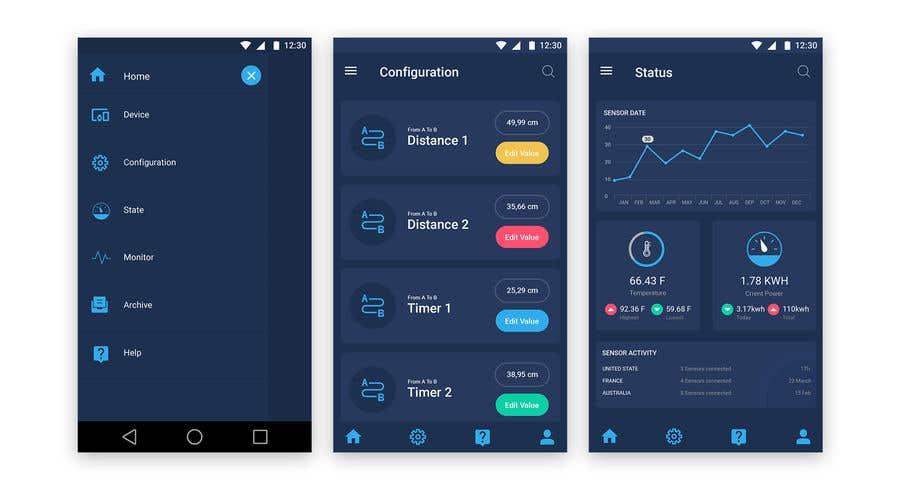 Entry 18 By Bkmraj For Android Mobile App Layout Mockup Freelancer