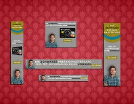 #157 untuk Design a set of advertising banner oleh rasselrana