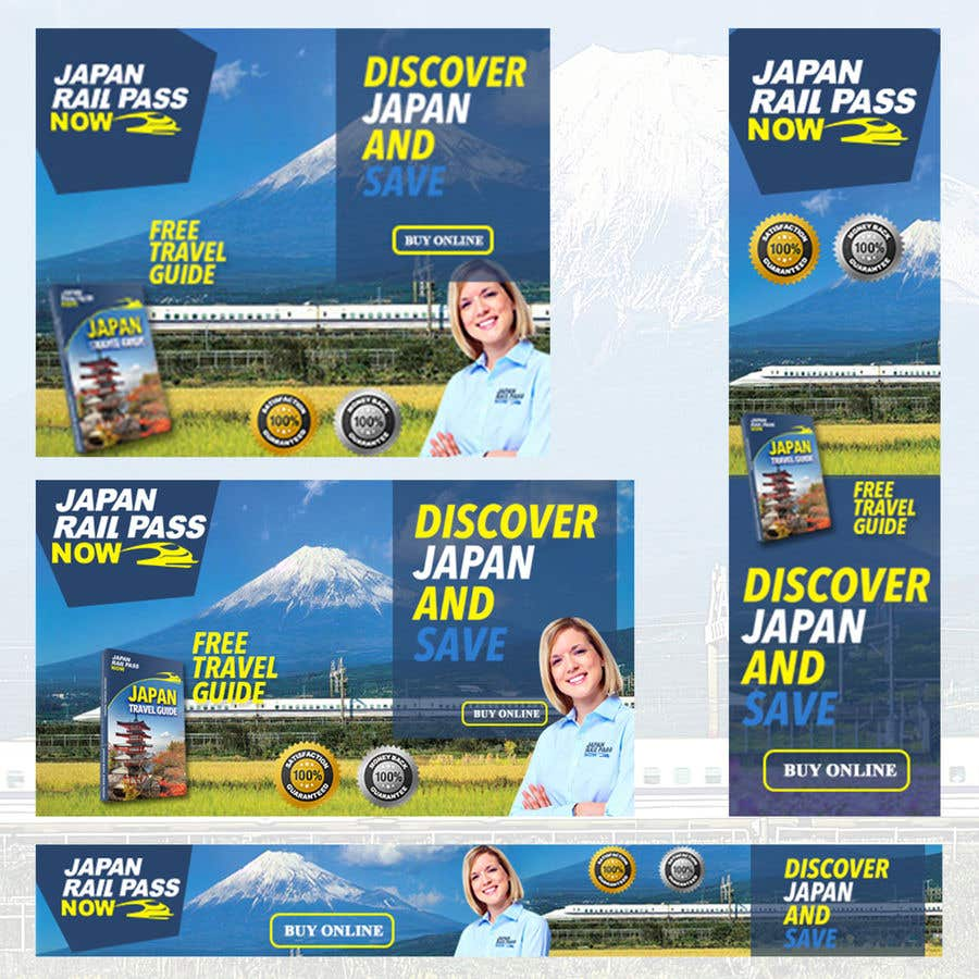 Konkurrenceindlæg #15 for 1 Homepage Banner + 3 Web Banners