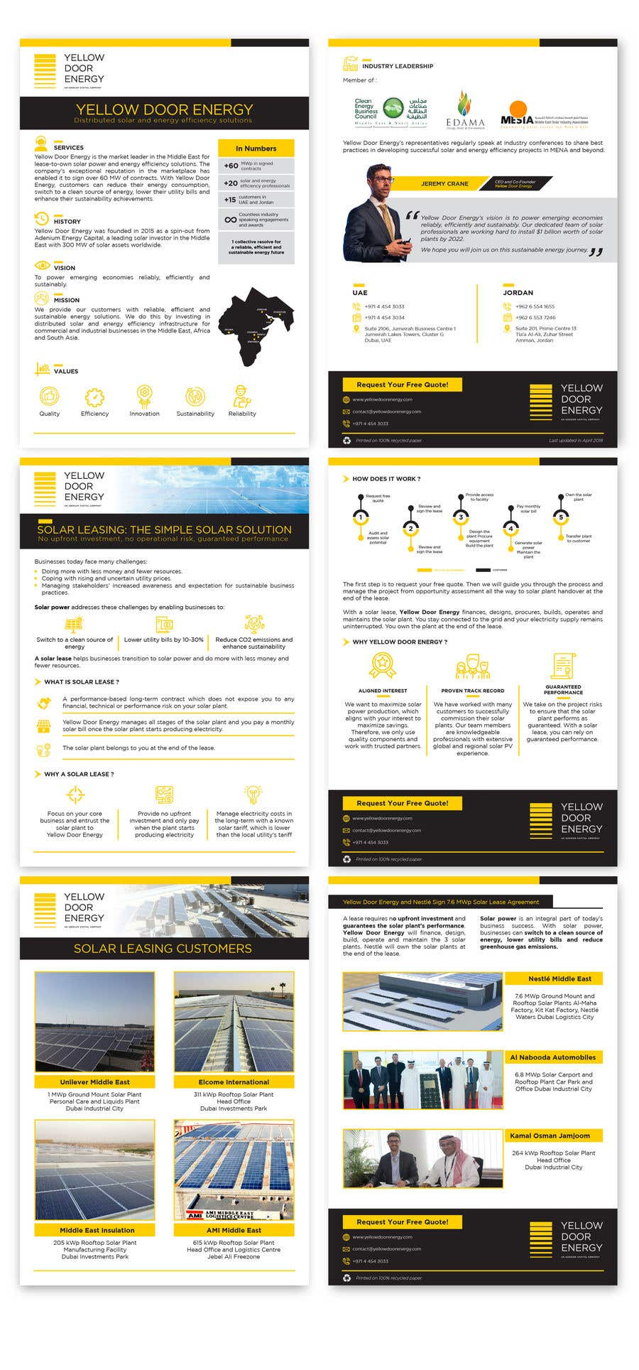 Entry #41 by bartolomeo1 for Design corporate brochure for a solar