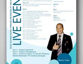 #3 for Design a Flyer for LIVE Real Estate Event by vaishaknair