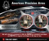 Graphic Design Entri Peraduan #7 for Banner Ad Design for American Precision Arms