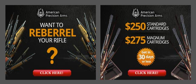 #6 for Banner Ad Design for American Precision Arms by dreamsweb