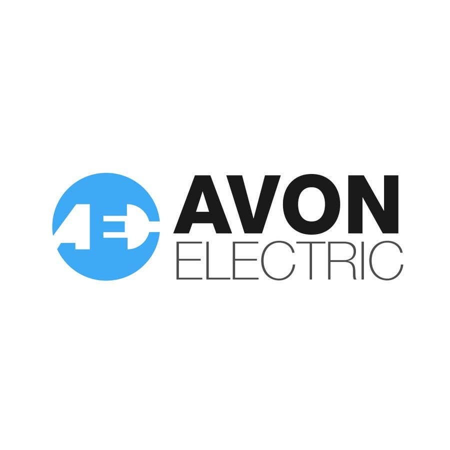 """Contest Entry #                                        8                                      for                                         Logo for my new electrical company in nova scotia canada.  """"Avon Electric"""". We live on the avon river where the eagles fly"""