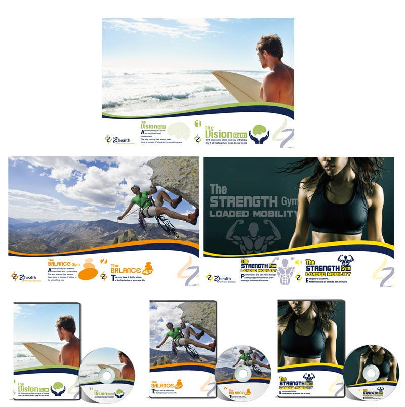 #1 for 3 DVD Suite Design for Z-Health Performance Solutions, LLC by ManuelSabatino