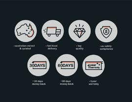 #26 for Design a set of 6 simple icons for my eCommerce by sagarjadeja