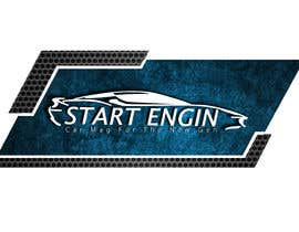 #23 for Car Magazine Logo with the name:  Start Engine by TimeSkilled