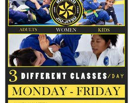 #39 for 3 Flyers for BJJ classes by almaktoom