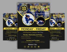 #41 for 3 Flyers for BJJ classes by tofail44