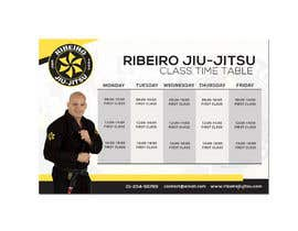 #26 for 3 Flyers for BJJ classes by Louiegi