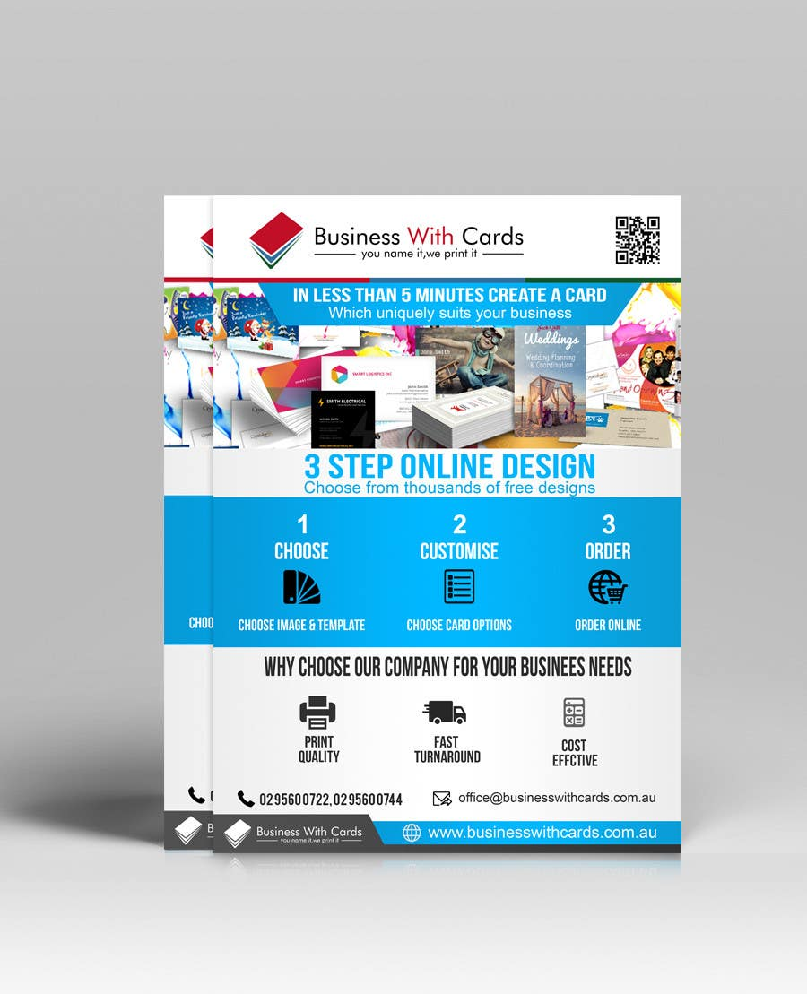 Entry 25 By Mostofafx For Design A Marketing Flyer For A Printing