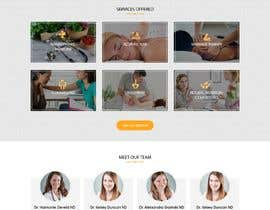 #7 for Create a landing page for naturopathic doctors at NCMC by webidea12