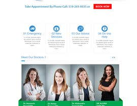 #9 for Create a landing page for naturopathic doctors at NCMC by AndITServices