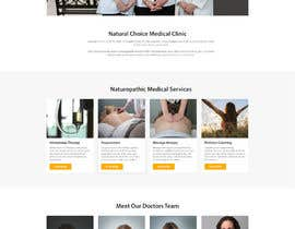 #21 for Create a landing page for naturopathic doctors at NCMC by DarshanSoni1217