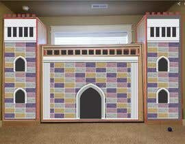 #24 for Illustrate castle-theme cabinet/bed in kids room by evanpv
