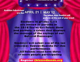 #36 for Design a Flyer - Talent Show by rabiaelmouden