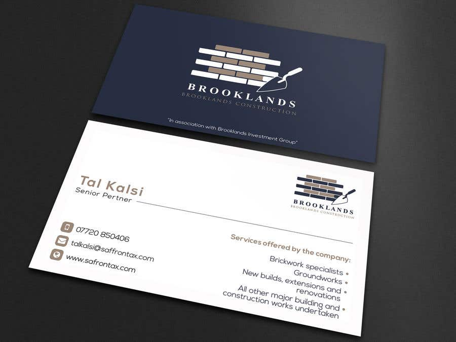 entry 45 by rumon078 for simple business card design easy money