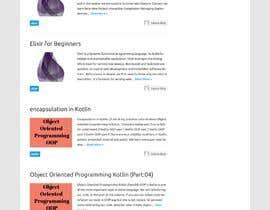 #21 cho digital download/ blog website design bởi gtaposh