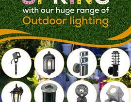 #50 for Design a Banner To Advertise Outdoor Lighting by owlionz786