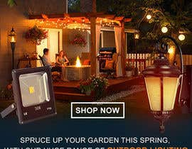 #53 for Design a Banner To Advertise Outdoor Lighting by muhaiminalsaiful