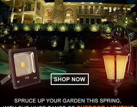 #54 for Design a Banner To Advertise Outdoor Lighting by muhaiminalsaiful