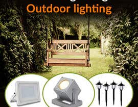 #30 for Design a Banner To Advertise Outdoor Lighting by Anetadud